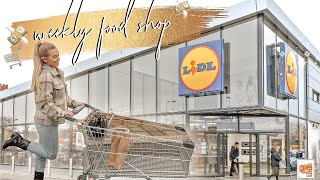 LIDL FOOD SHOPPING HAUL ON A BUDGET & WHAT I EAT IN A WEEK FOOD DIARY | HEALTHY MEAL IDEAS