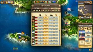 PORT ROYALE 3: PIRATES AND MERCHANTS Tutorial Video #2