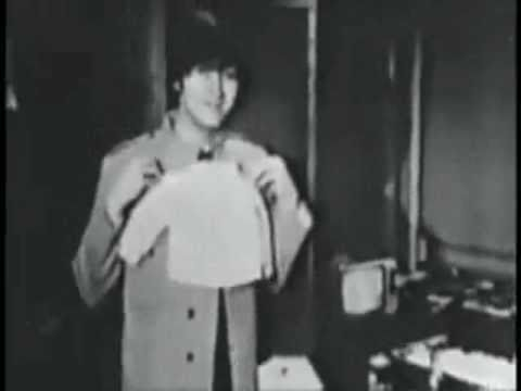 Cute and funny Beatles video with rare clips (catswalk)