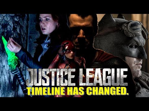 TIMELINE HAS CHANGED. Justice League Movie Theory!