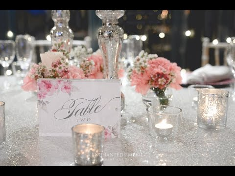 Romantic Pink and Silver Wedding, styled by Enchanted Empire, Event Artisans
