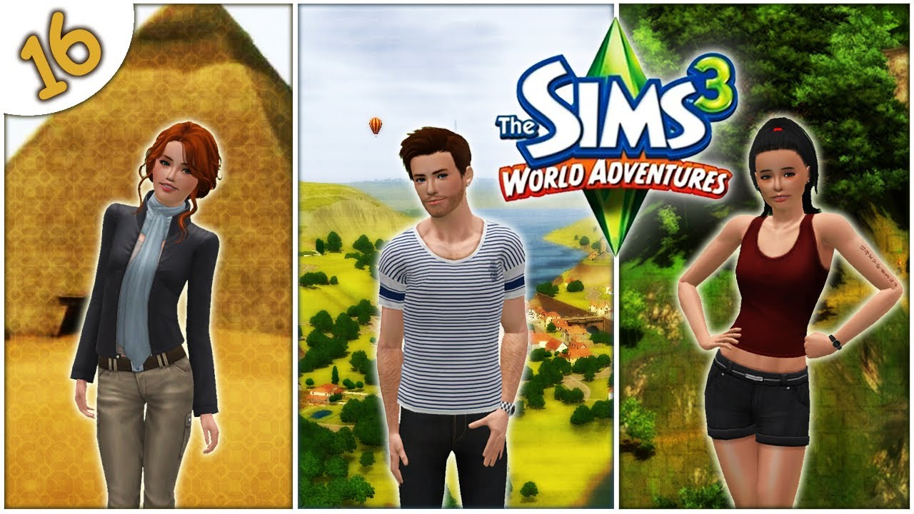 let 39 s play the sims 3 world adventures part 16 the relic of life youtube