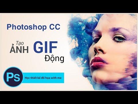 Hướng dẫn tạo ảnh Gif - Động thu hút trong Photoshop