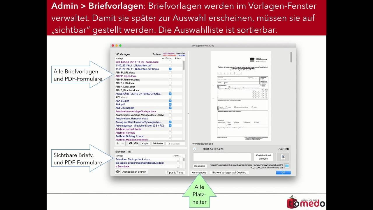 Briefschreibung für Fortgeschrittene: Arztbriefe und externe ...