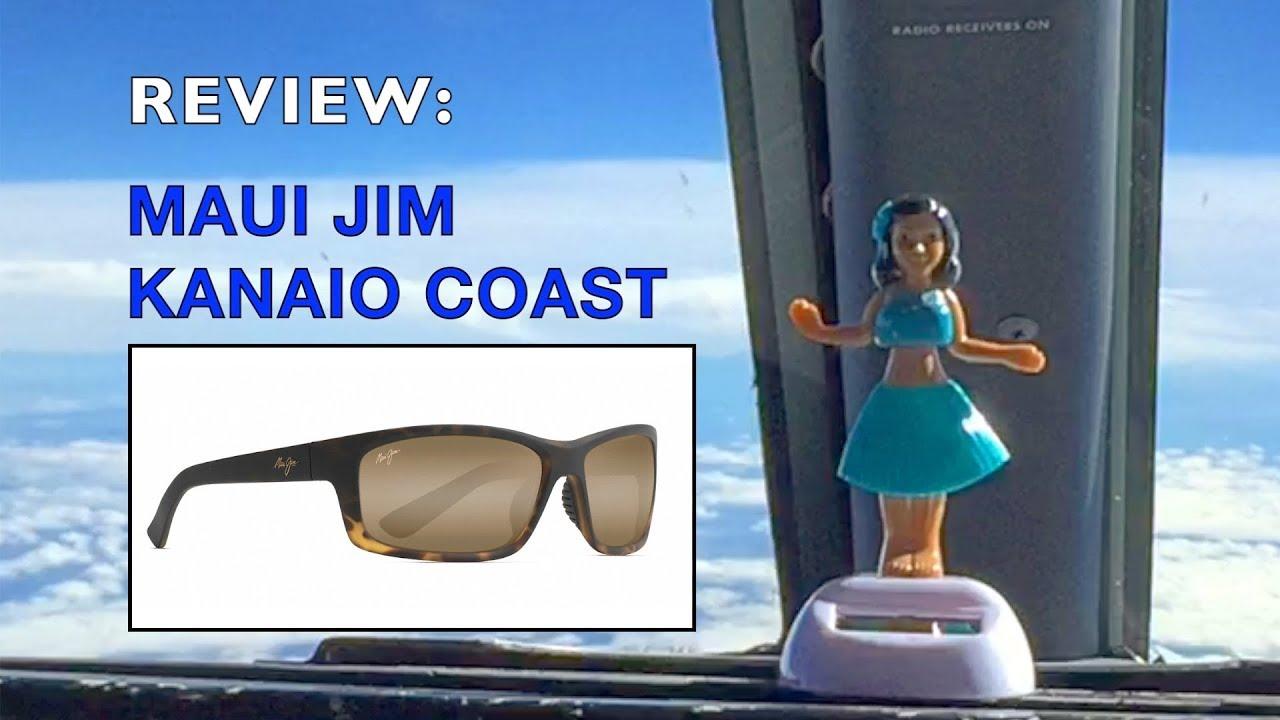 d4c1ef92b6 Maui Jim Kanaio Coast 766 Sunglasses Review - YouTube