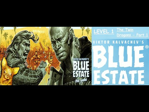 """Blue Estate The Game - Level 1 - """"The Twin Dragon Part 1"""" - Gameplay Walkthrough - No Commentary 