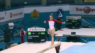 2014 European Championships - Women's Balance Beam Final