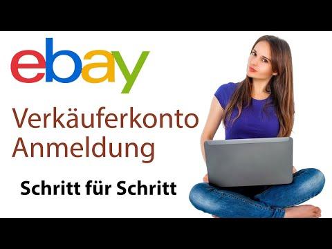 EBay Anmeldung Verkäuferkonto Erstellen - Verkaufen Bei EBay - EBay Anleitung