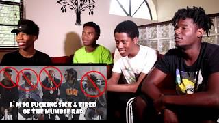 Mumble Kendrick Lamar Humble Parody (Reaction)