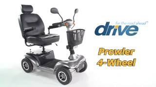 Drive Medical Prowler 4 Wheel Mobility Scooter