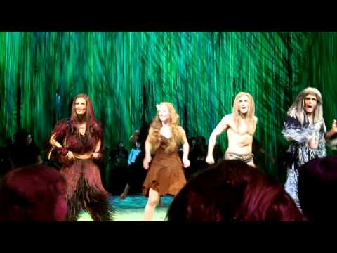 Tarzan Hamburg - 2.10.2013 Derniere - Schlussapplaus