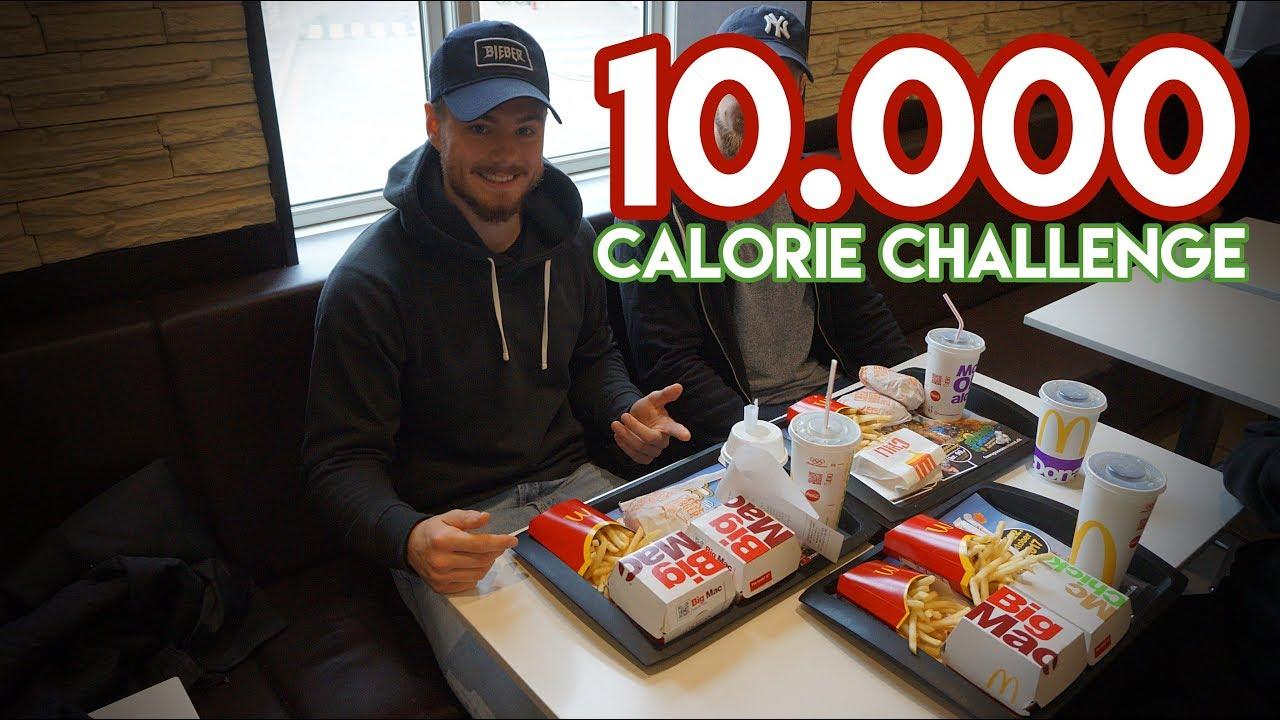 10000 kalorier på en dag
