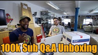 100k Subscriber Q&A plus mystery unboxing with Hockey Tutorial