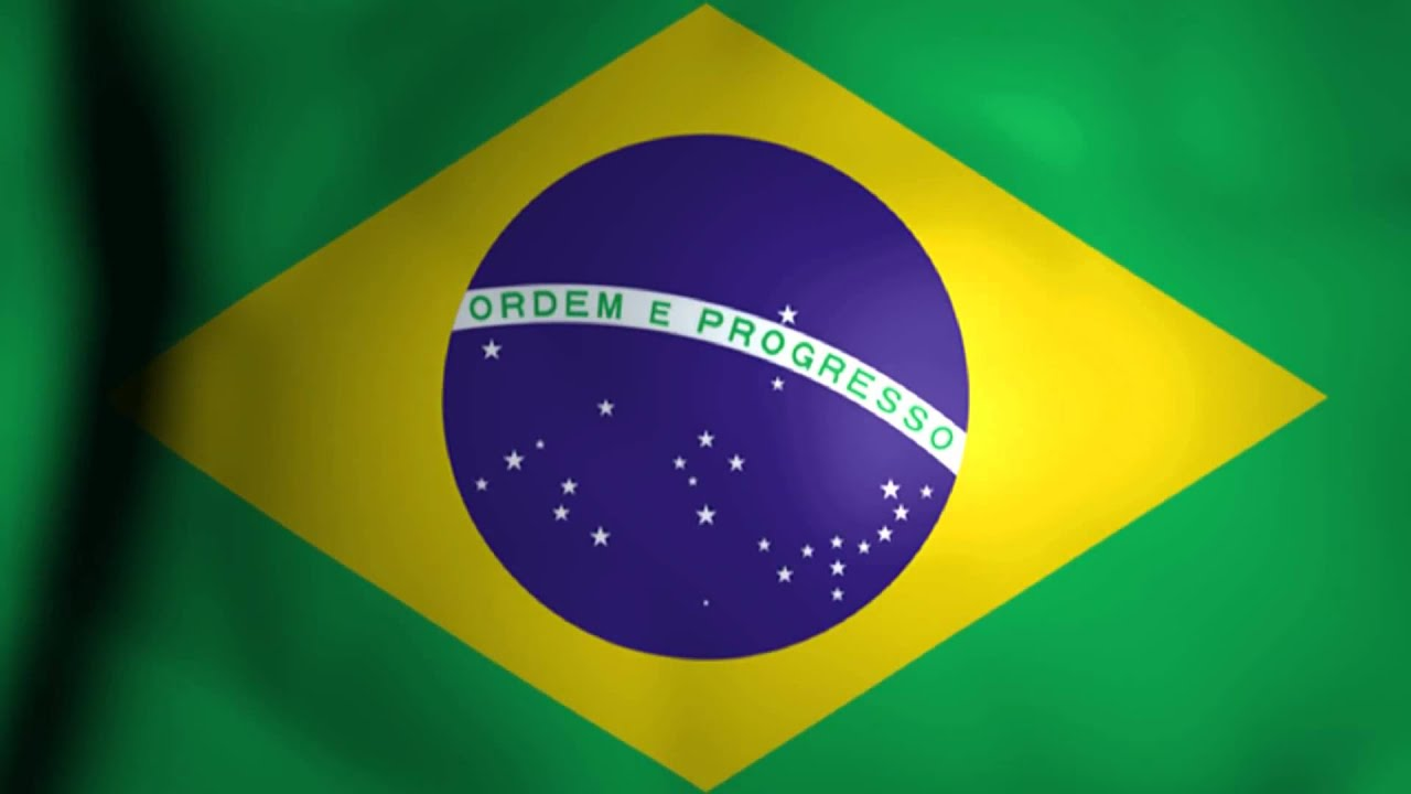 Brazil Flag Animation #1