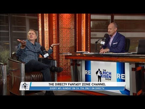 "Michael Rapaport of DIRECTV's ""Fantasy Zone"" Joins The RE Show in Studio - 8/14/17"