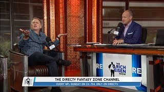"""Michael Rapaport of DIRECTV's """"Fantasy Zone"""" Joins The RE Show in Studio - 8/14/17"""