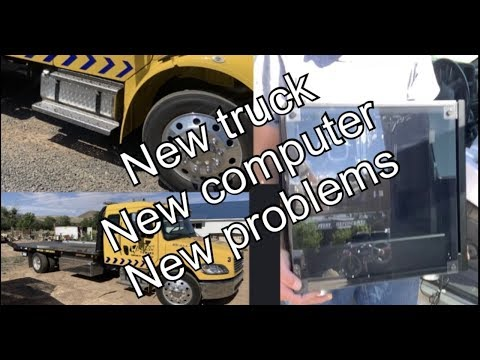 New Tow Truck! New Computer! New Problems!