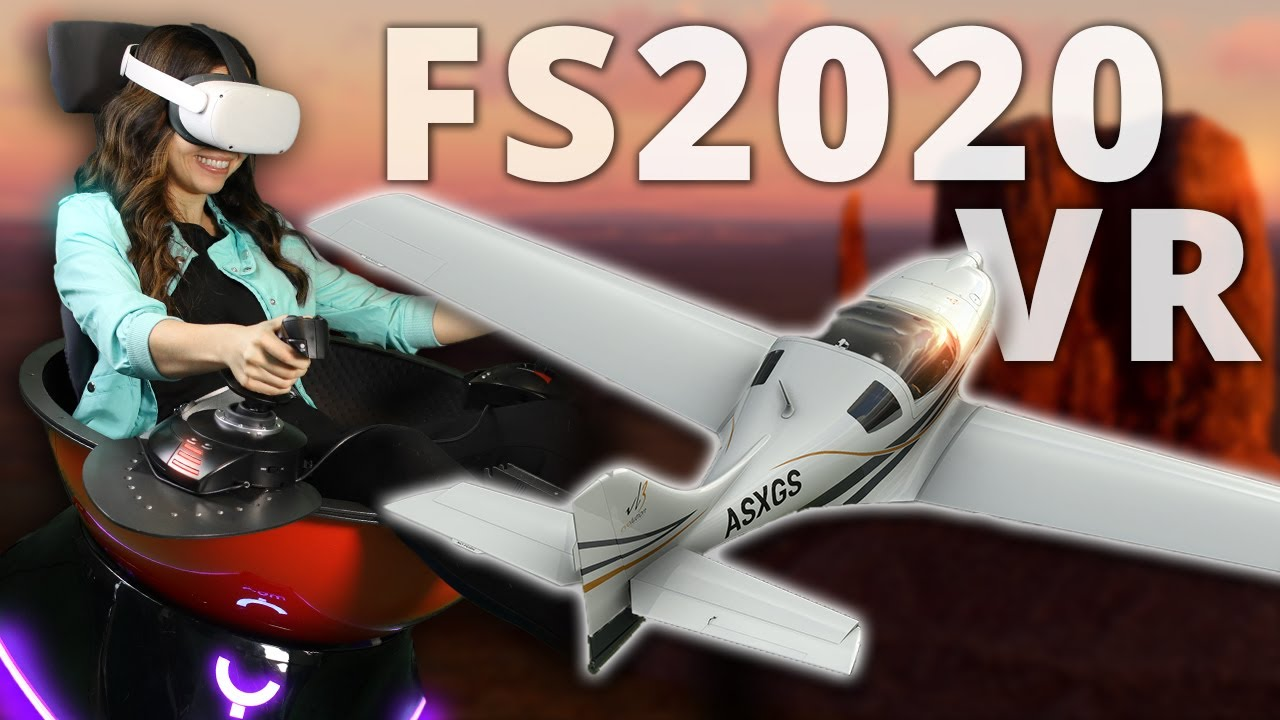 MS Flight Sim 2020 Review with Yaw VR