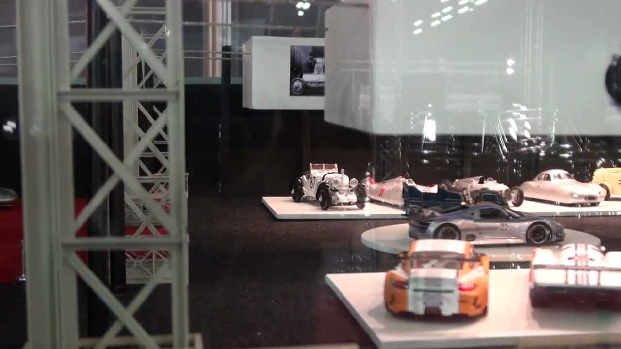 Salon Miniature Porsche Diorama - Youtube