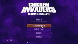 هكر لعبة طخ الفراخ Chicken Invaders 4 Ultimate Omelette