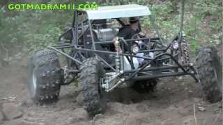 LS POWERED CHAIN DRIVE RAIL BUGGY