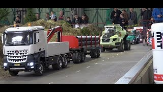 Temofeszt 2018 All Trucks - RC Truck convoy