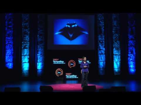 Researching manta ray brains: Csilla Ari at TEDxTampaBay