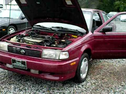 1994 Nissan Sentra Se R Youtube