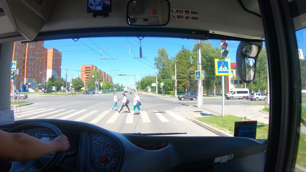 От конечной до конечной. 14 маршрут. | Троллейбусный маршрут, Чебоксары.