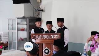Graduation Ceremony held for Tahfidz ul Qur'an Students in Indonesia