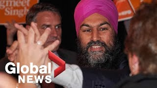 Canada Election: Jagmeet Singh attends UpRiSingh rally in Victoria, B.C.