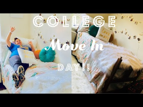 COLLEGE MOVE IN DAY VLOG | Rollins College 2018
