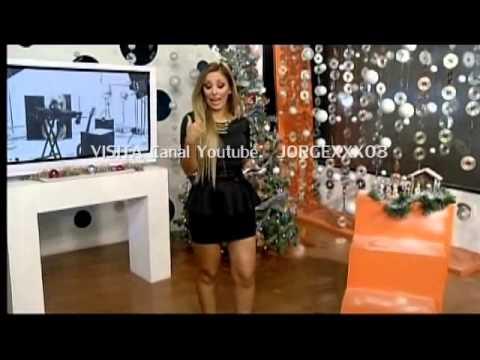 ALEXANDRA GONZALEZ PIERNOTAS EN MINIVESTIDO NEGRO - YouTube