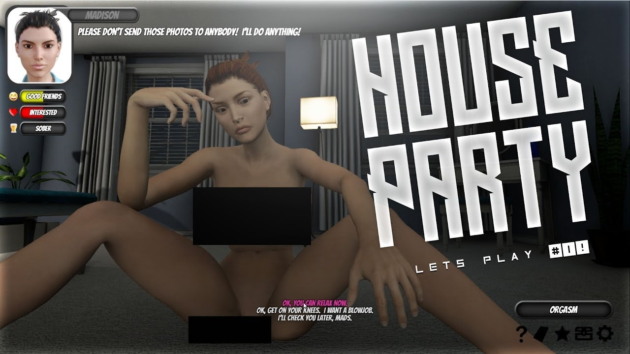 House party game scenes