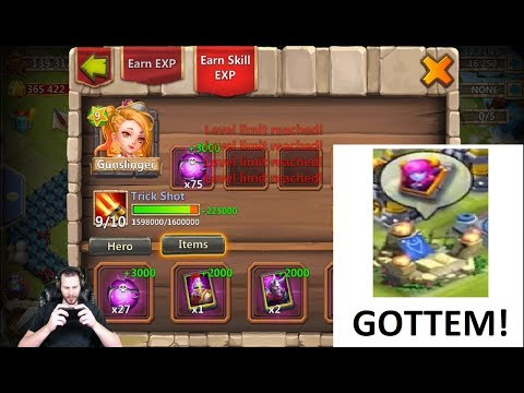 JT's Free 2 Play Sexy Free Hero Roll Evolving GunSLINGER Castle Clash