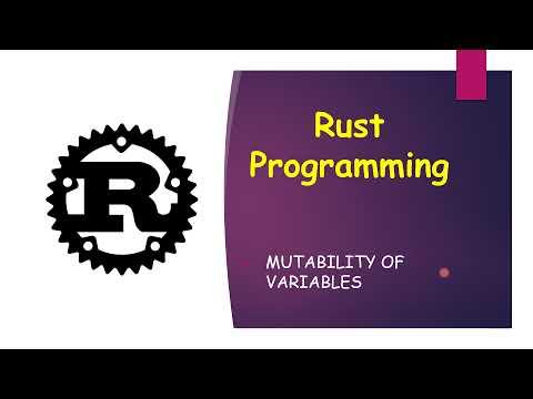 Rust Crash Course - Mutability