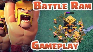 COC | 5th ANNIVERSARY UPDATE LEAKS | Battle Ram Gameplay, 1 Gem Boost, Shrink Traps PRIVATE SERVER |