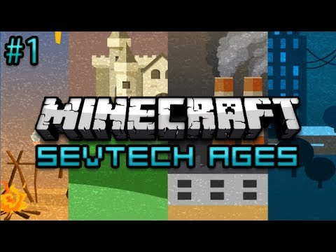 Minecraft: SevTech Ages Survival Ep. 1 - Hot Grills