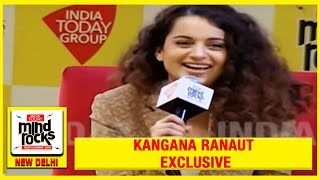 The Queen of Reinvention | Kangana Ranaut Exclusive At India Today Mind Rocks 2019 | #MindRocks19