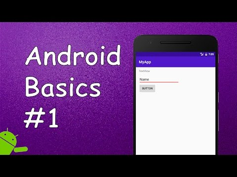 Android Tutorial For Beginners #1 - Hello World Program