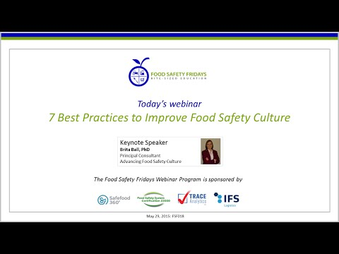 7 Best Practices to Improve Food Safety Culture