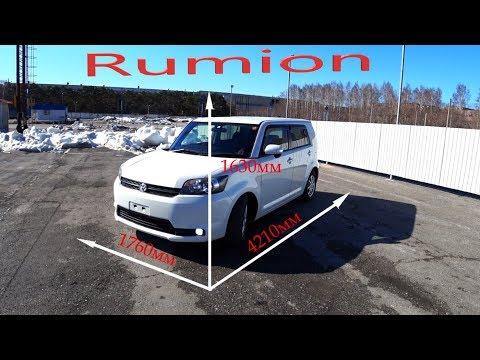 Обзор Toyota Rumion V-1.8  2012г без пробега по РФ.