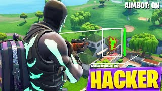 I FIND A HACKER ON PC... AND KILL ME IN FORTNITE!