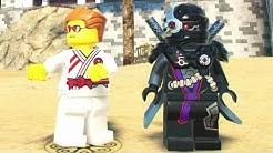The LEGO Ninjago Movie Videogame - Ninjago City Beach Free Roam Gameplay