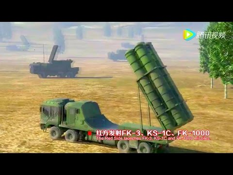 CASIC - Air & Sea Defense Systems + Ground Strike System Combat Simulation [720p]
