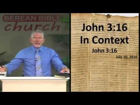 John 3:16 in Context (John 3:16)