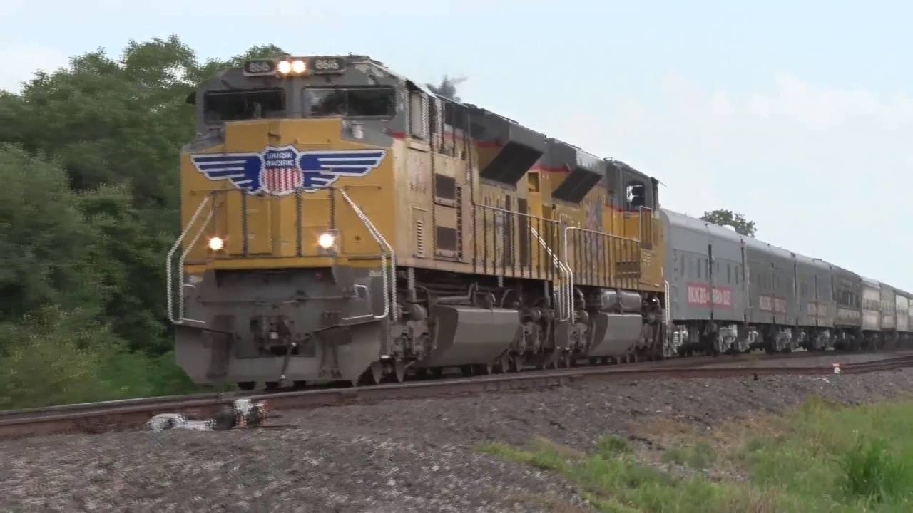 2016 Circus Train San Antonio To Houston Via Up And Bnsf