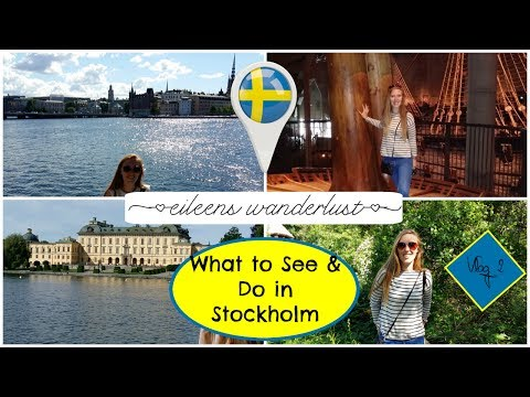 10 Things You Can't Miss in Stockholm - What to See & Do in Stockholm, Where to stay - Vlog #2