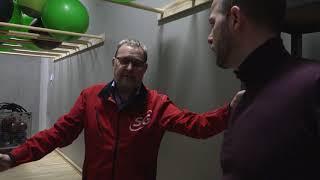 Morten Østergaard på arbejde i Svendborg Gymnastikforening