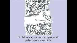 Kunterbunte Kinderlieder - Nachtgespenst-Schlaflied (mit Text) (wirklich schönes Einschlaflied)